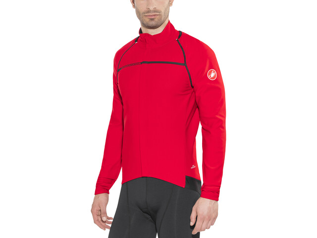 Castelli Perfetto Convertible Jacket Men red